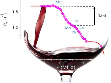 Quantification of manganous ions in wine by NMR relaxometry